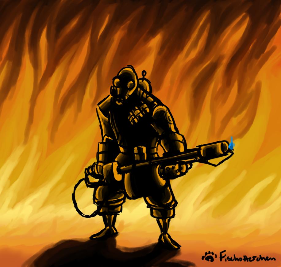 Fire, Fire by Fischotterchen