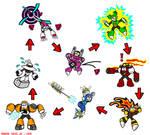 Megaman 9 weakness chart