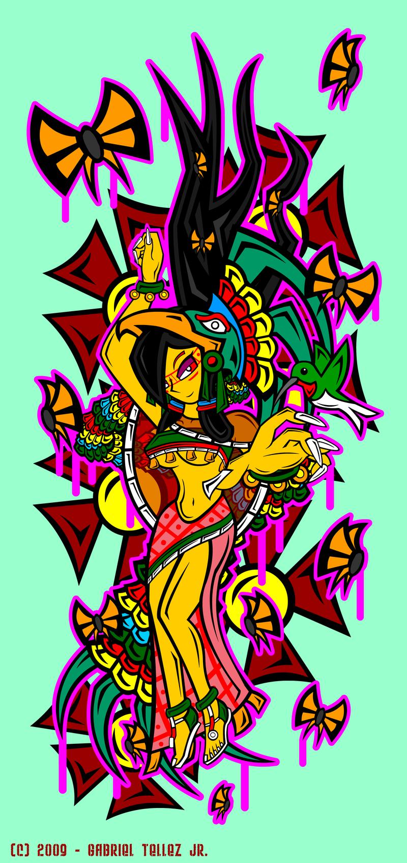 Xochiquetzal by Quetzalcoatl2kXochiquetzal Aztec God