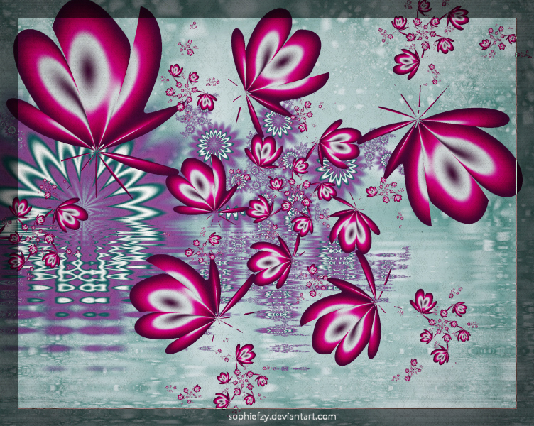 Fractal butterfly by Sophie-Y