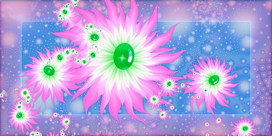 Fractal flower by Sophie-Y
