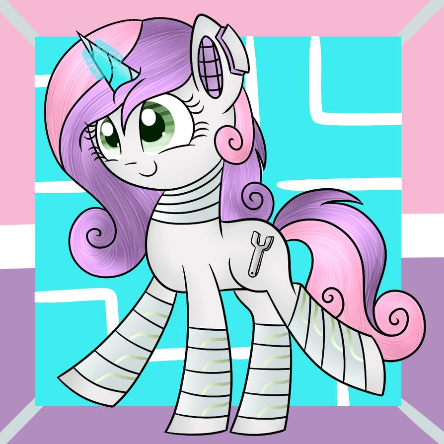 Future Sweetie Bot by Mayleebell24 on DeviantArt