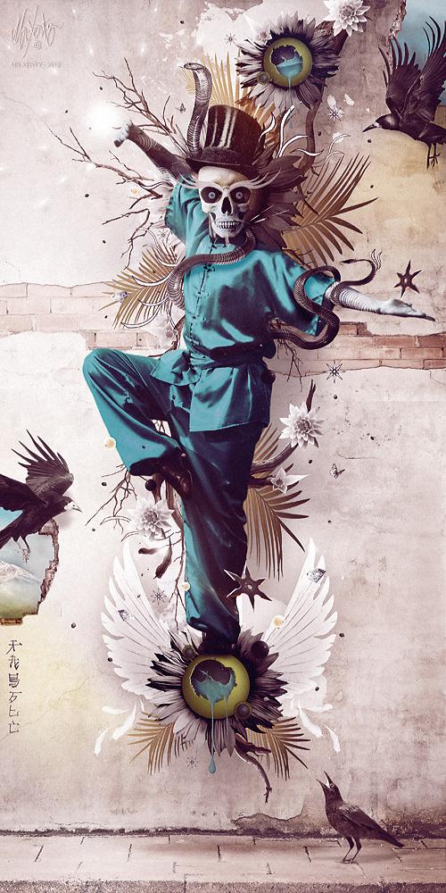 Death-Swan by Mr-Xerty