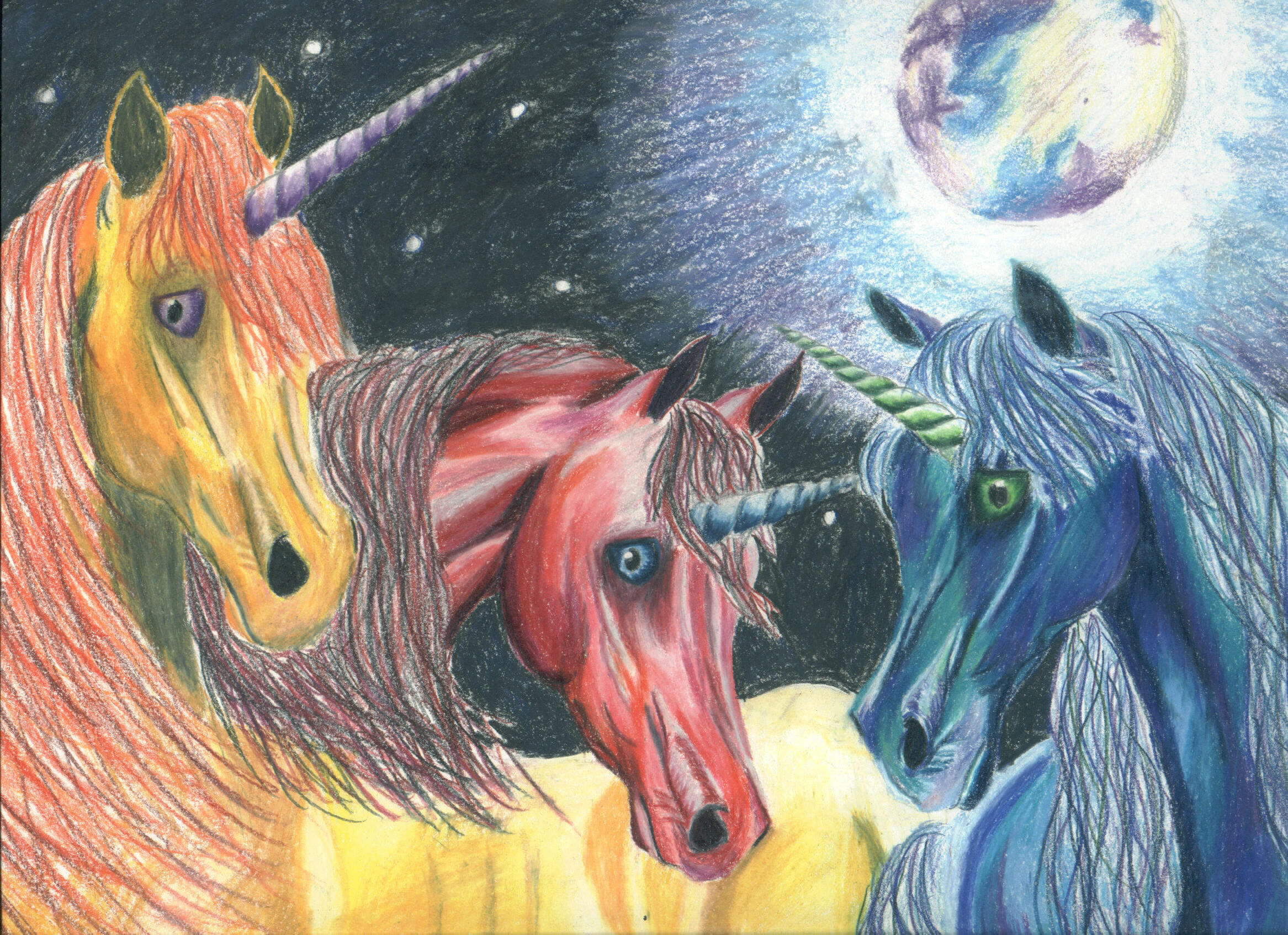Unicorns by tpturtle
