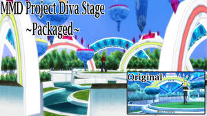 MMD Project Diva Package Stage