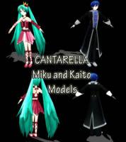CANTARELLA Miku and Kaito DL by SachiShirakawa