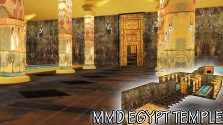 MMD Egypt Temple Download by SachiShirakawa