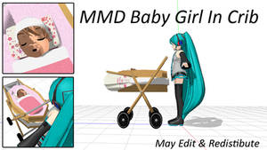 MMD Baby Girl In Crib Download