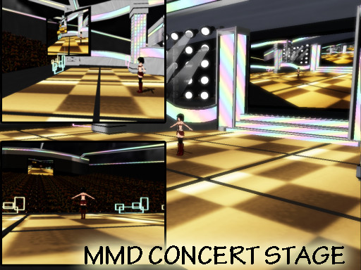 Stage Concert Mmd_concert_stage_downlaod_by_shikanenara-d4gwkig