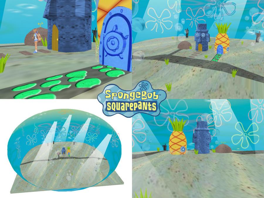 MMD Spongebob Bikini Bottom DL by SachiShirakawa