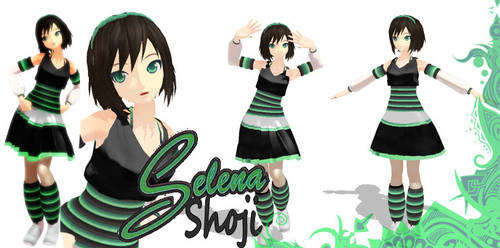 MMD Selena Shoji Model Download by SachiShirakawa