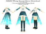 MMD Wang Yuanji Dress Download