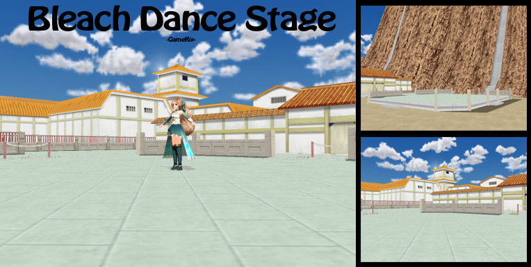 MMD Bleach Dance Stage -GameRip- DL by SachiShirakawa