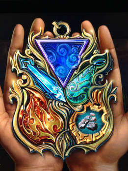 Medallion of elements
