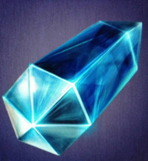 Blue crystal