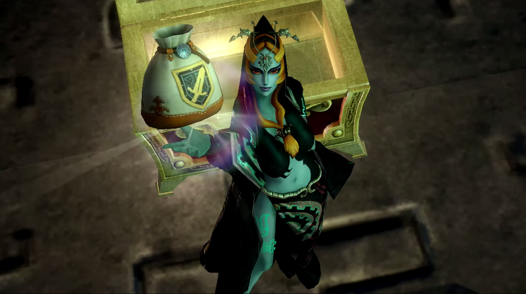 twilight princess Midna discovery pose by isaac77598 on DeviantArt