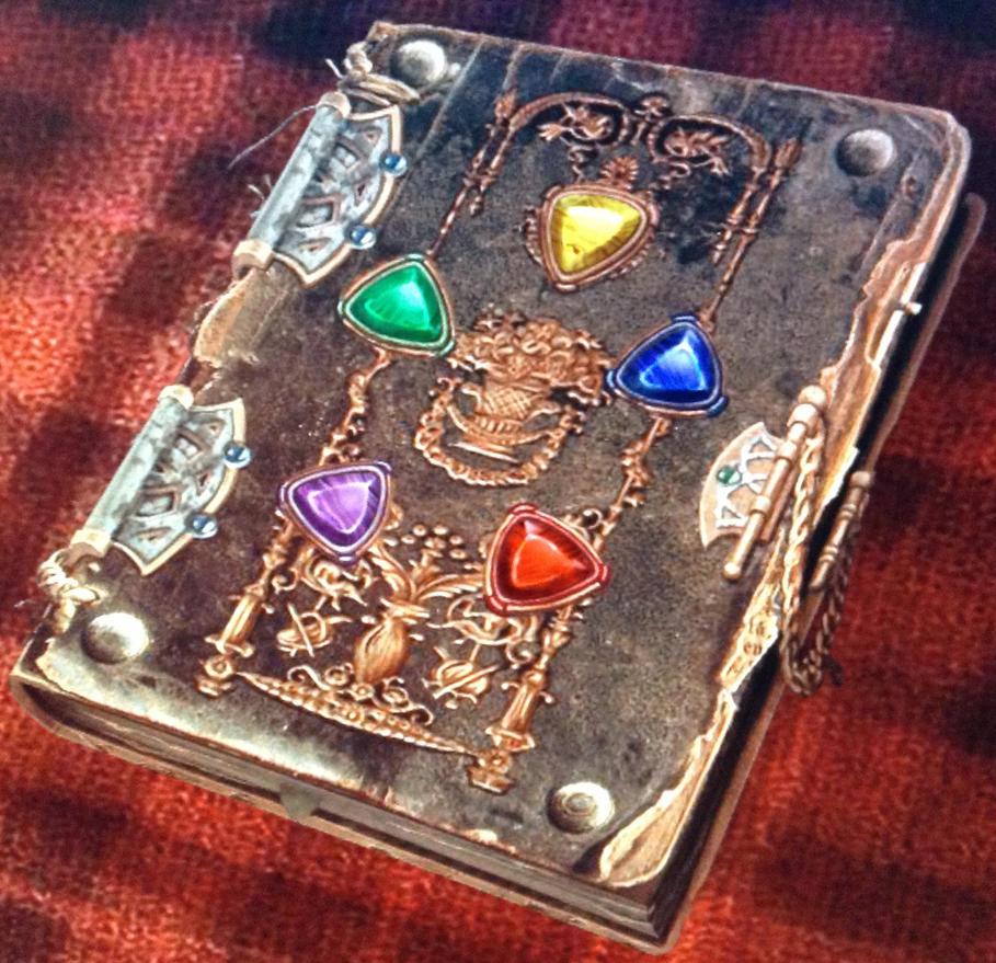 Spellbook of Grimo - Spellbook of Secrets by
