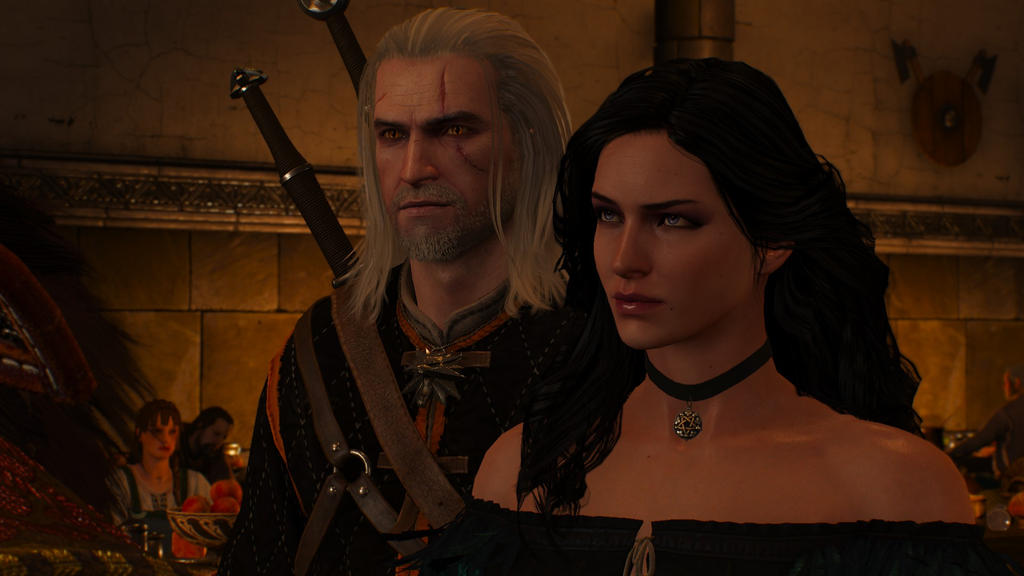 geralt and yennefer by - photo #4