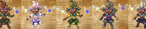 Skull kid's costumes ocarina by isaac77598