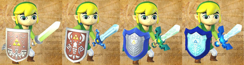 Toon Link's light sword by isaac77598