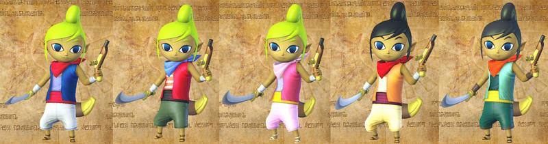 Tetra's costume cutlass by isaac77598