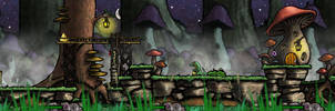 Adventures of the Salamander - The Game by MKSchmidt