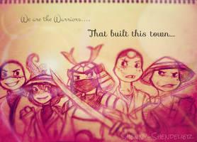 TMNTUF: Warriors
