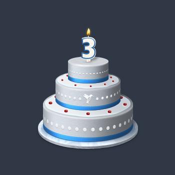 birthday cake by mayack