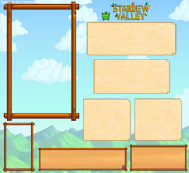 Common's Stardew Valley OC Template by CommonEvils