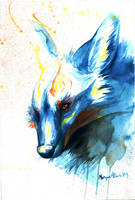 Cross Fox by caroro
