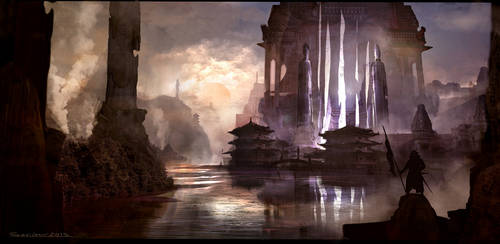 Big Temple by sarichev
