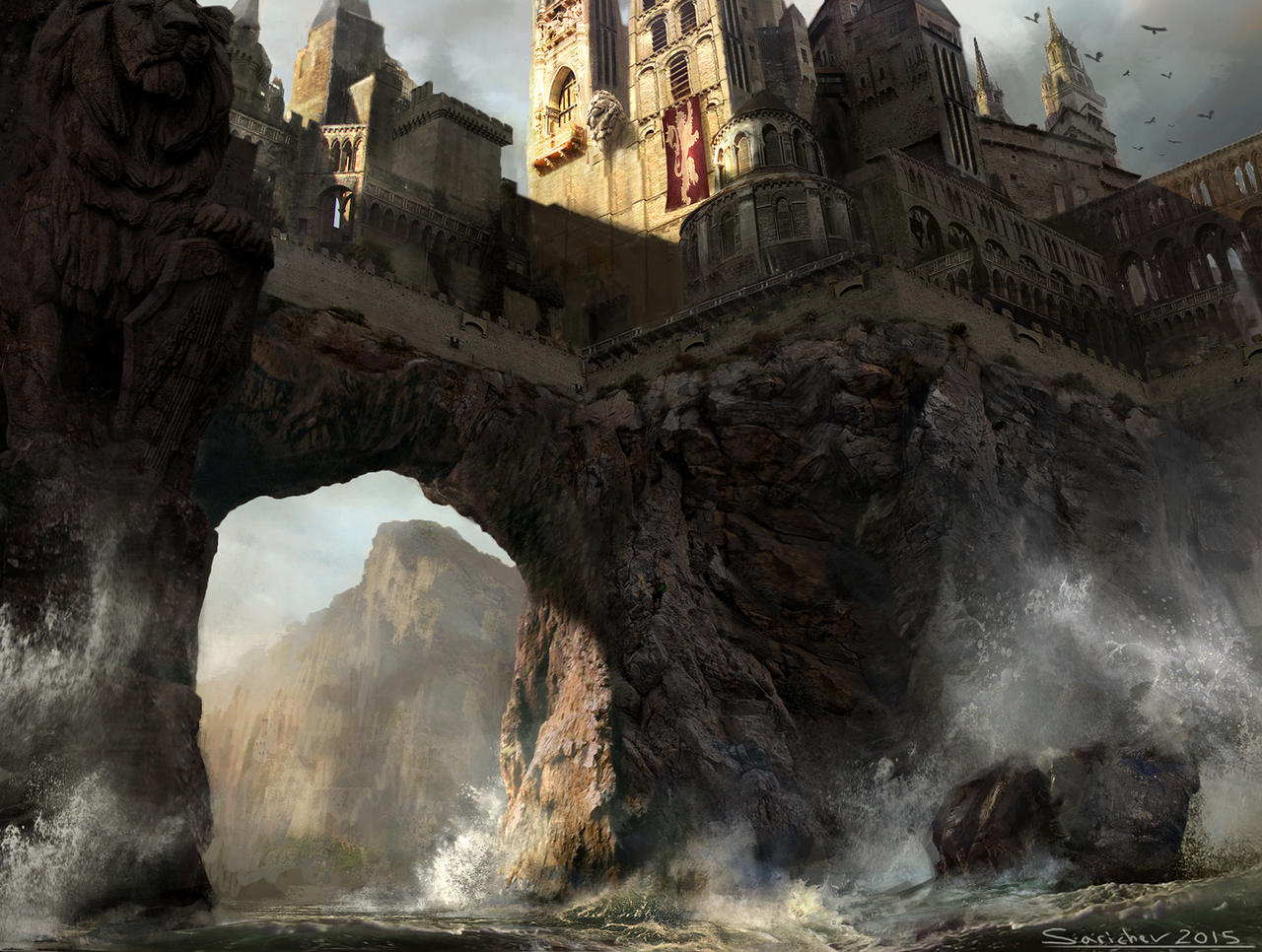 Angle Song Casterly Rock Re Design By Sarichev On Deviantart