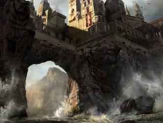 Casterly Rock re Design by sarichev