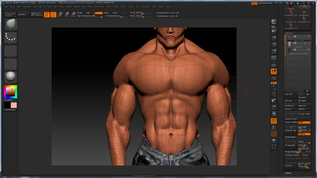 Male Character - closer detail