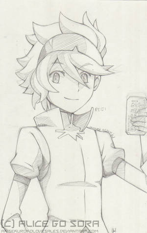 Reiji Sketch by AKiseKurokoLovesAles