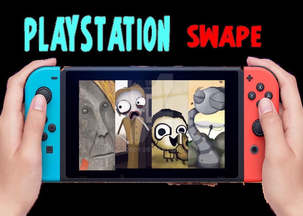 Playstation Swape by 5452dboy