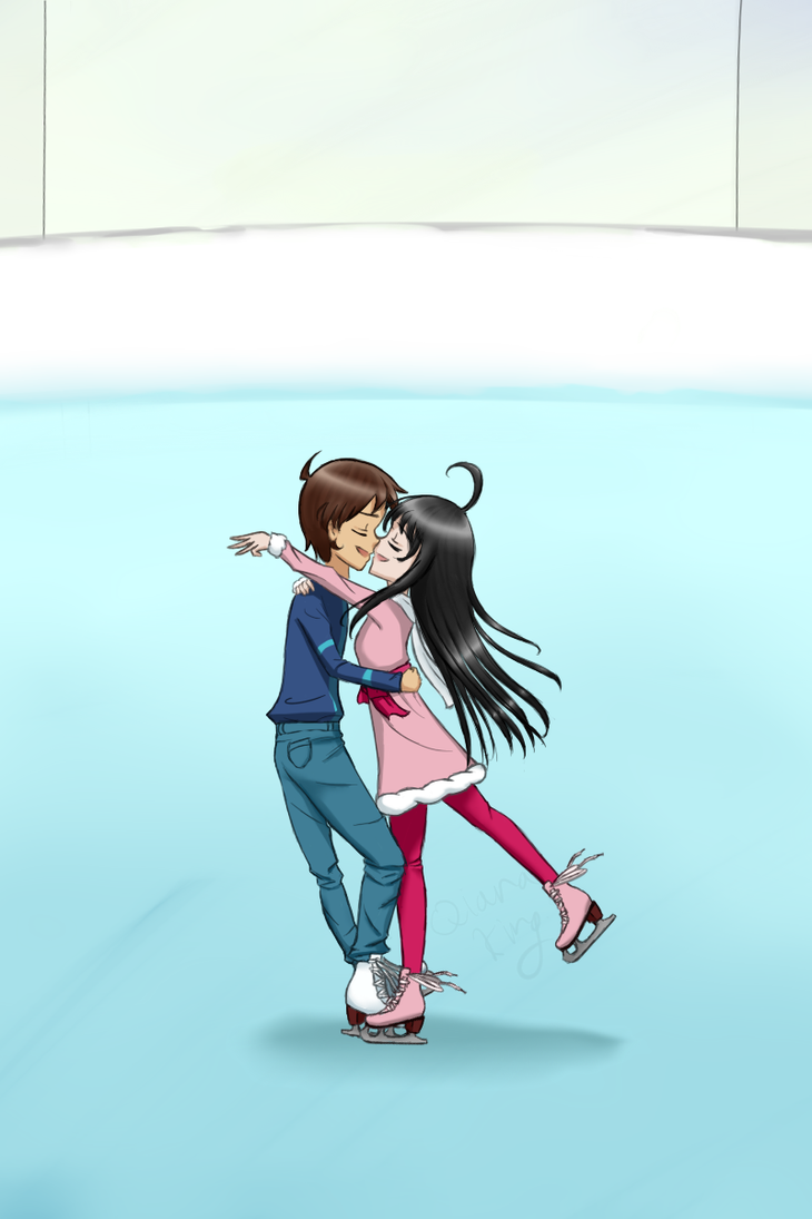 Ice skating by qianaking on deviantart ice skating by qianaking voltagebd Choice Image