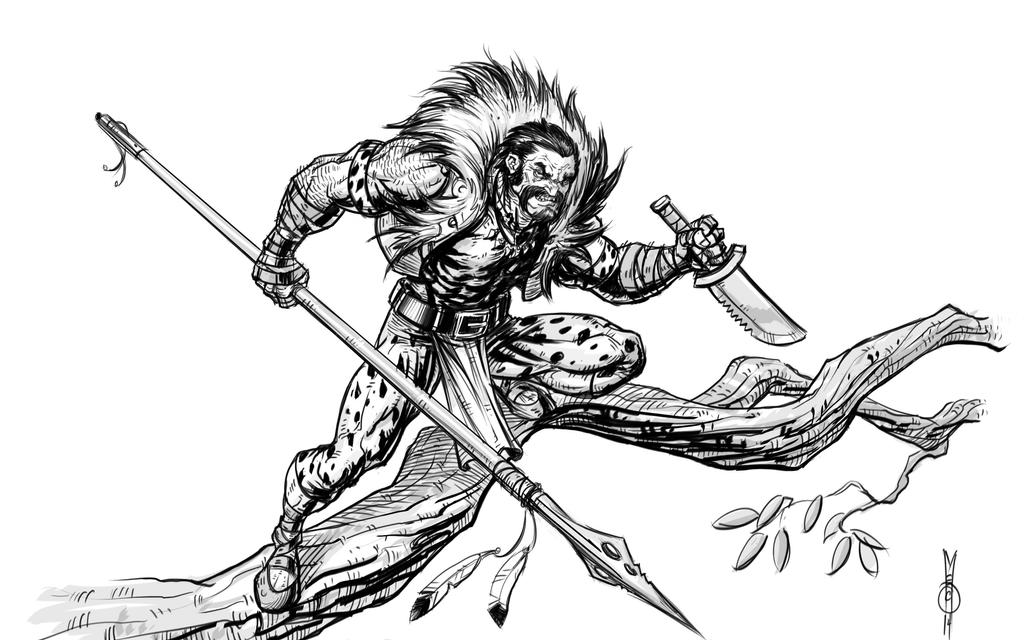 Kraven The Hunter by NMEZero