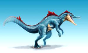 Feraligatr by Cthulhusaurus-Rex