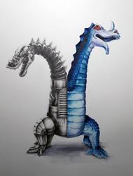 Imperial 2 Headed Dragon