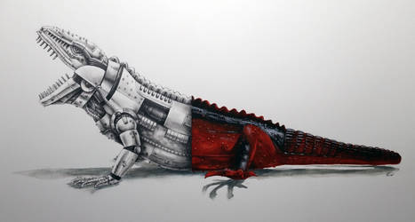 Imperial Marine Iguana
