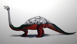 Dor Mei Brontosaurus