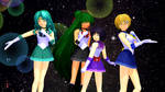MMD Senshi of the Outer Solar System Ver.2