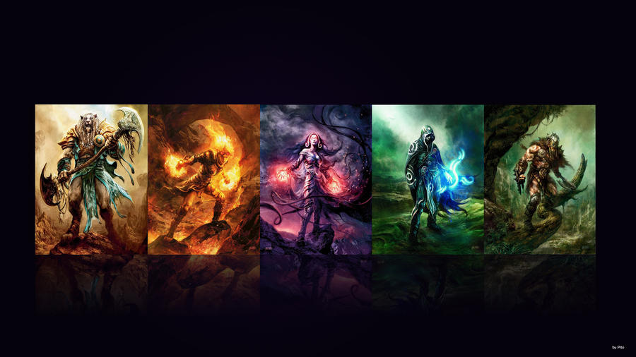 planeswalkers wallpaper by PitoDaBestPlaneswalker Wallpaper