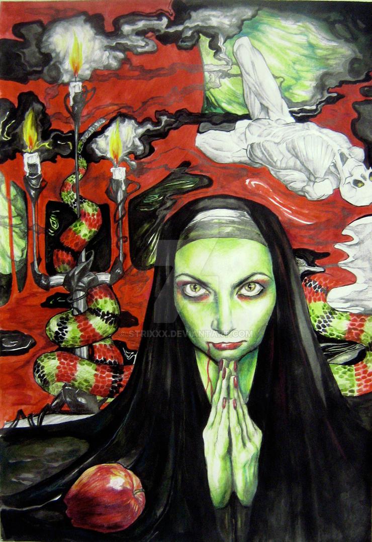 Magdalena by strixxx