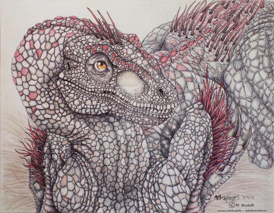 Feathered Deinonychus by she1badelf