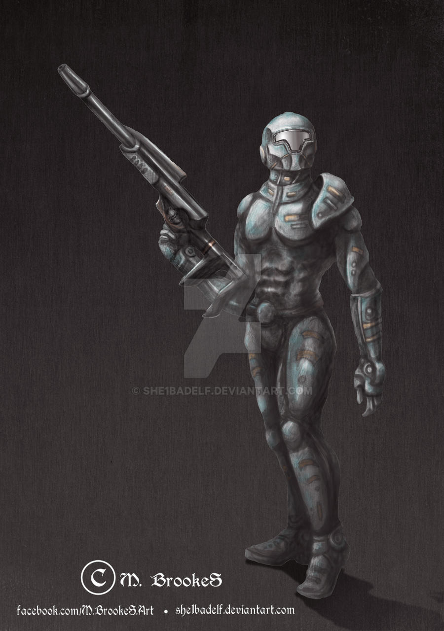 Pangaea 2151: Painted Armor Concept by she1badelf