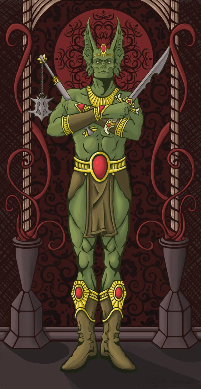 Jague, the Dragon Champion