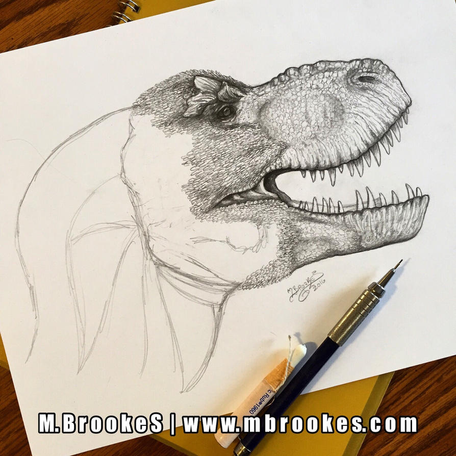 Tyrannosaurus rex Update 3 by she1badelf