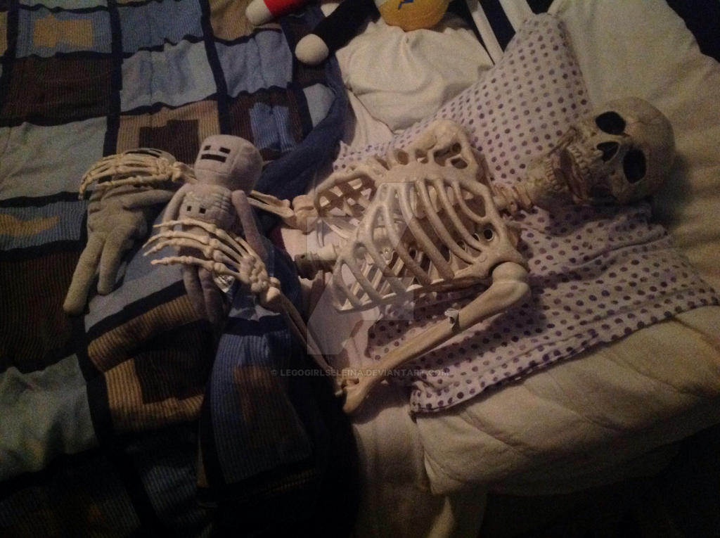 There S A In My Bed There S A Skeleton In My Bed By Legogirlseleina On